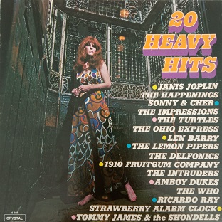 20 Heavy Hits Lp 33t Vinyle
