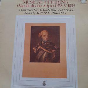 The Yorkshire Sinfonia (dirigé par Manoug Parikian) - Musical Offering BWV 1039 (33t)