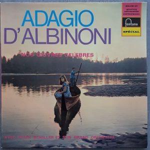 Franz Schiller, & Son Grand Orchestre – Adagio D'Albinoni Nos Oeuvres Célèbres (33t) Vinyle