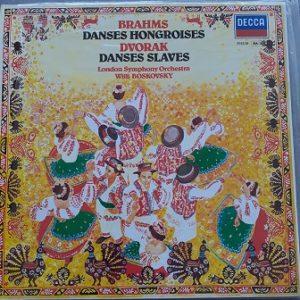 Brahms/Parlow/ - Danses Hongroises / Danses Slaves (33t) Vinyle