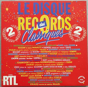Le Disque Des Records Classiques (2XLP) Vinyle