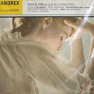 Andrex, Ginette Baudin – Andrex Et Ginette Baudin Chantent Les Grands Succès Des Belles Années LP 78T Vinyle