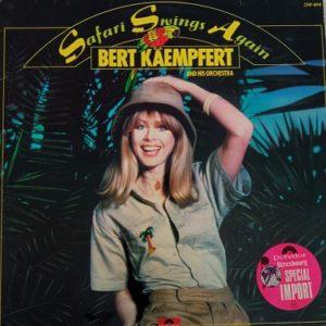 Bert Kaempfert & His Orchestra – Safari Swings Again Lp 33t Vinyle