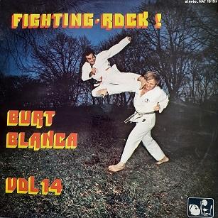 Burt Blanca-Fighting Rock Compilation Vinyle