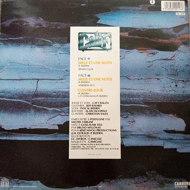 Calif – Mille Et Une Nuits Maxi 45t Vinyle