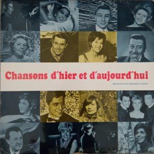 Chansons D'hier Et D'aujourd'hui Lp 33t Compilation Vinyle