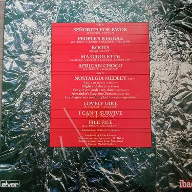 Chocolat's – Señorita Por Favor Lp 33t Vinyle