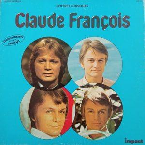 Claude François – Coffret 4 Disques Vinyle