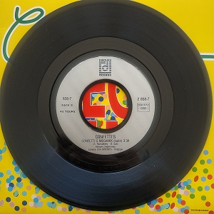 Confetti's Megamix disque