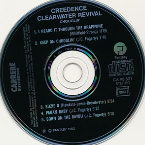 Creedence Clearwater Revival – Chooglin´ Album (CD)