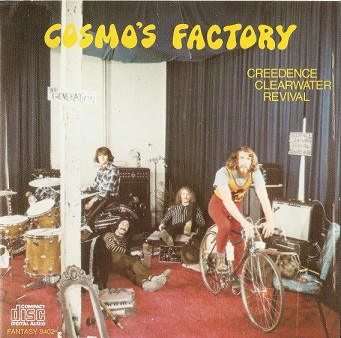Creedence Clearwater Revival – Cosmo's Factory Album (CD)