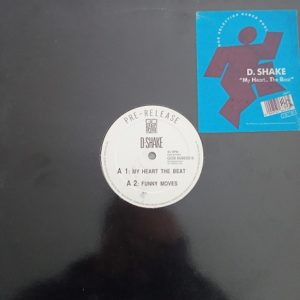 D-Shake – My Heart The Beat Maxi 45T Vinyle