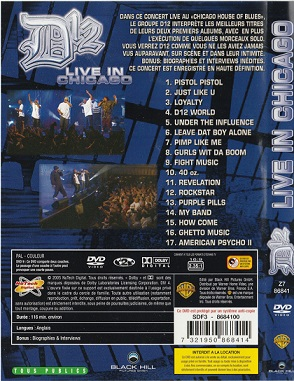 D12-Live In Chicago DVD 2