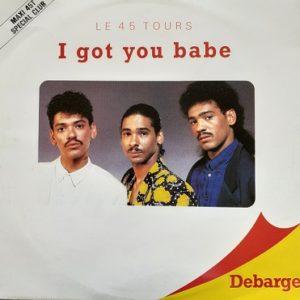 Debarge-I Got You Babe Maxi45t Vinyle
