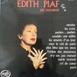 Edith Piaf – Un Souvenir Lp 33t Vinyle