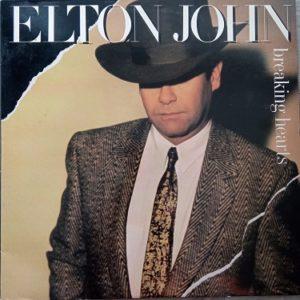 Elton John – Breaking Hearts Lp 33t Vinyle