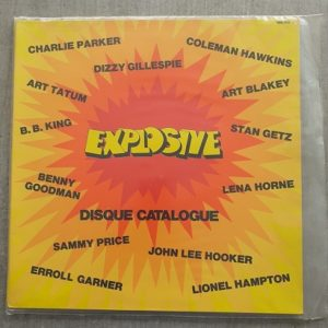 Explosive-Compilation 33t Vinnyle