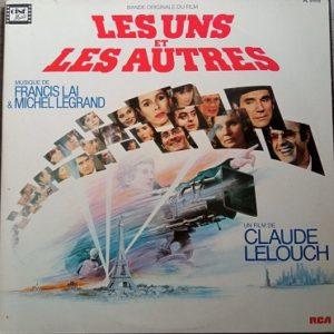 Francis Lai & Michel Legrand – Les Uns Et Les Autres (B.O) Lp 33t Vinyle