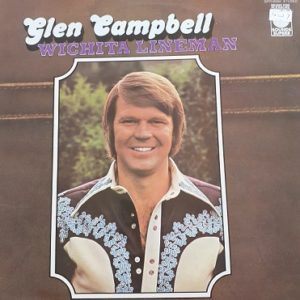 Glen Campbell-Wichita Lineman 33t Vinyle