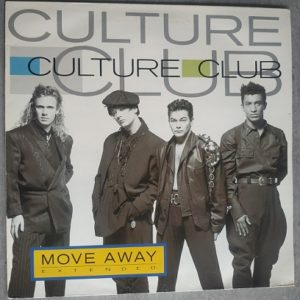 """Culture Club – Move Away """"Extended"""" (Maxi45t) Vinyle"""