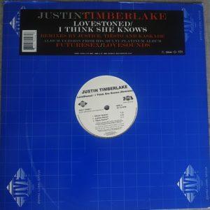 "Justin Timberlake – LoveStoned / I Think She Knows ""Remixes"" (Maxi33t) Vinyle"