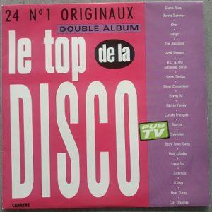 Le Top De La Disco (Compilation 2xVinyl)