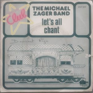 """The Michael Zager Band – Let's All Chant """"Special Club""""(45t) Vinyle"""