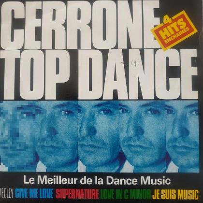 Cerrone – Top Dance Medley (45t) Vinyle