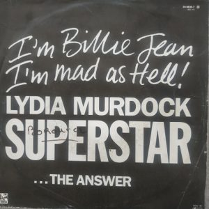 Lydia Murdock – Superstar(45t) Vinyle