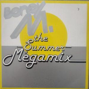 Boney M. – The Summer Mégamix (45t) Vinyle