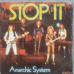 Anarchic System – Stop It (45t) Vinyle