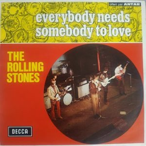 The Rolling Stones – Everybody Needs Somebody To Love (45t) Vinyle