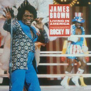 James Brown – Living In America (45t) Vinyle