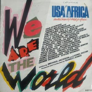 USA For Africa – We Are The World (45t) Vinyle