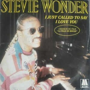 Stevie Wonder ‎– I Just Called To Say I Love You (45t) Vinyle