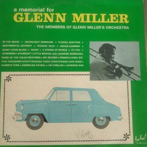 The Members Of Glenn Miller's Orchestra – A Memorial For Glenn Miller (33t) Vinyle