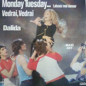 Dalida – Monday Tuesday... Laissez Moi Danser (Maxi45t) Vinyle