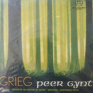 """Grieg, Orchestre Du Festival De Vienne, Gianfranco Rivoli – Peer Gynt (7"""",3333 ⅓ RPM) Vinyle"""