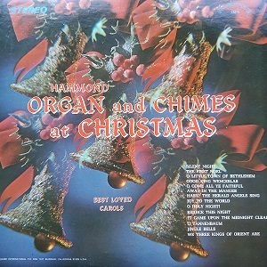 Ashley Tappen ‎– Hammond Organ And Chimes At Christmas (33t) Vinyle