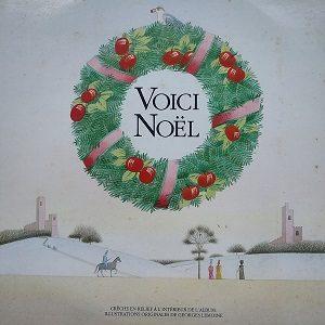 Claude Fonfrède, Dominique Becker Et Les Octaves – Voici Noël (2X33t) Vinyle