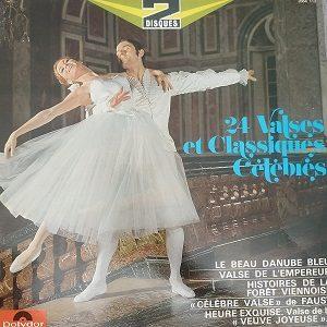 24 Valses Célèbres (2XLP) Vinyle