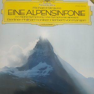 Richard Strauss - Eine Alpensinfonie (33t) Vinyle