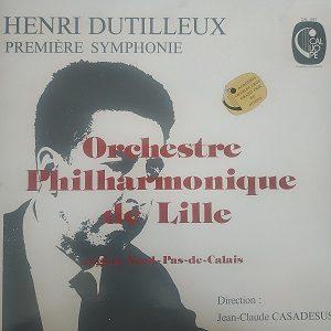 Henri Dutilleux, Orchestre Philharmonique de Lille – Première Symphonie (33t) Vinyle