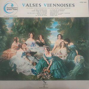 Das Wiener Volksopernorchester Et Das Grosse Wiener Hofball Orchester – Valses Viennoises (33t) Vinyle