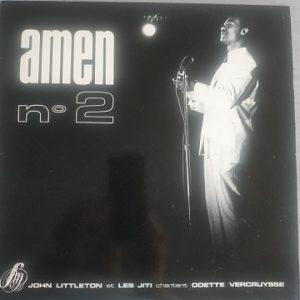 John Littleton et les Jiti chantent Odette Vercruysse - Amen n°2 (33t) Vinyle