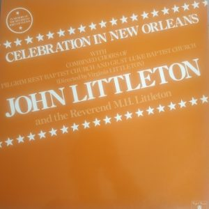John Littleton - Celebration in New Orleans (33t) Vinyle