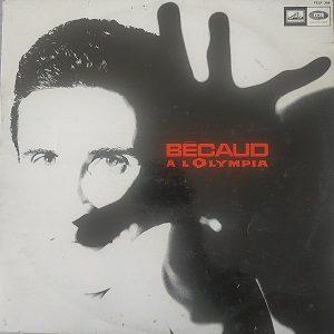 Bécaud – Bécaud À L'Olympia (33t) Vinyle