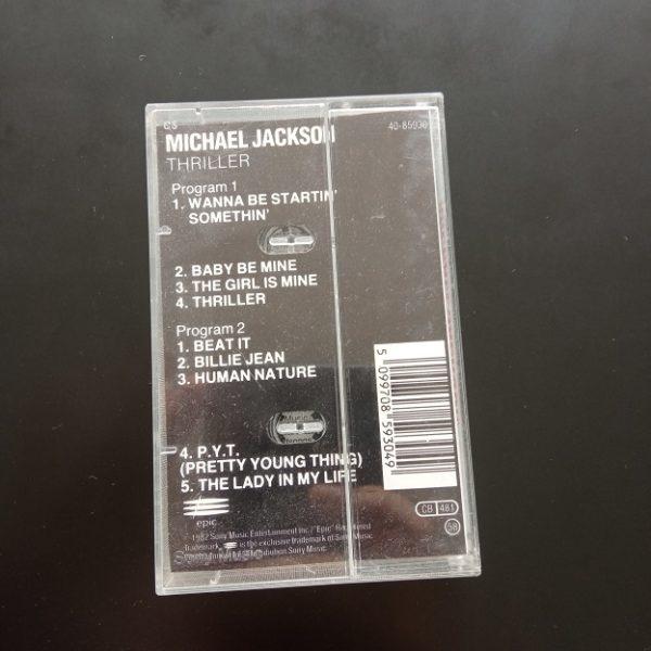 Michael Jackson – Thriller K7 Album