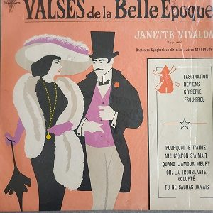 Janette Vivalda – Valses De La Belle Époque 78T Vinyle
