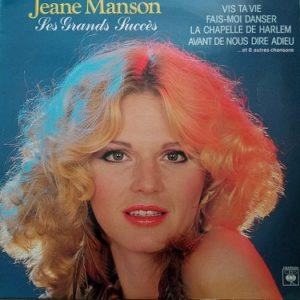 Jeane Manson – Ses Grands Succès Lp 33t vinyle